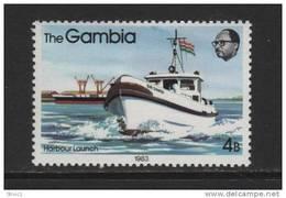 Gambia, Scott # 468 MNH  Riverboats, 1983 - Gambia (1965-...)