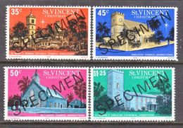 ST. VINCENT  475-8  **  CHURCHES   SPECIMEN - St.Vincent (...-1979)