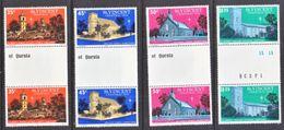 ST. VINCENT  475-8  **  CHURCHES  GUTTER  PAIRS - St.Vincent (...-1979)