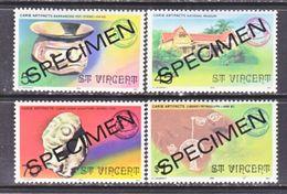 ST. VINCENT  479-82    **  CARIB.  INDIAN  ART   SPECIMEN - St.Vincent (...-1979)