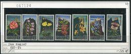 San Marino - Michel 880-886 - ** Mnh Neuf Postfris - Blumen Fleurs Flowers Bloemen - San Marino