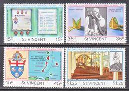 ST. VINCENT  495-8     **  RELIGION   BISHOPS  OF  WINDWARD  ISLANDS - St.Vincent (...-1979)