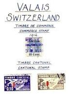 SWITZERLAND, Valais, Used, F/VF - Fiscaux