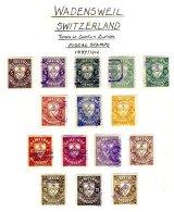 SWITZERLAND, Wadensweil, Used, F/VF - Fiscaux