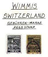 SWITZERLAND, Wimmis, Used, F/VF - Fiscaux