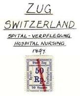 SWITZERLAND, Zug, Used, F/VF - Fiscaux