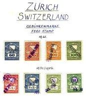 SWITZERLAND, Zürich, Used, F/VF - Fiscaux