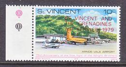 ST. VINCENT  568  **     AERO  FIRST  FLIGHT TO  GRENADINES - St.Vincent (...-1979)