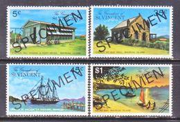 """ST. VINCENT  GRENADINES  112-5   **  """"SPECIMEN""""  MAYREAU  ISLAND - St.Vincent (...-1979)"""