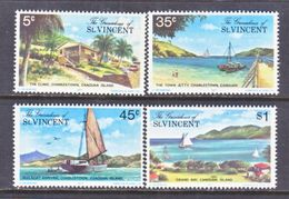 ST. VINCENT  GRENADINES  129-32   **    TOURISM   CANOUAN  ISLAND - St.Vincent (...-1979)