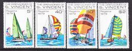 ST. VINCENT  GRENADINES  166-9   **    SAILING  REGATTA - St.Vincent (...-1979)