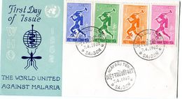 VIETNAM 1962 FDC ANTI-MALARIA. - Ziekte