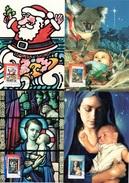 AUSTRALIA 2007 50 Years Of Christmas Stamps: Set Of 5 Maximum Cards CANCELLED - Maximumkarten (MC)