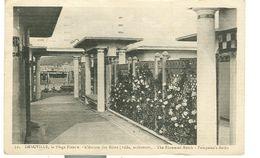DEAUVILLE, LA PLAGE FLEURIE , L'ATRIUM DES BAINS, B/N ,1938, ITALIA, BOLOGNA - Deauville