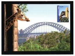 """AUSTRALIA 2007 """"Impressions"""" Sydney Harbour Bridge/Zoo: Postcard MINT/UNUSED - Postal Stationery"""
