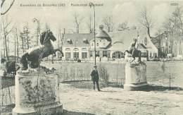 BRUXELLES - Exposition 1910 - Restaurant Vlemand - Universal Exhibitions