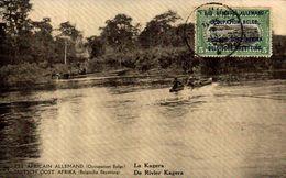 DUITS OOST AFRIKA .EST AFRICAIN ALLEMAND ( Occupation Belge ) LA KAGERA ( Recto / Verso   Entier Postal - Congo Belga - Otros
