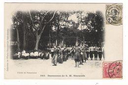 INDOCHINE / CAMBODGE / DANSEUSES DE S. M. SISOWATH / Cliché SESMAISONS N° 543 / BEAUX TIMBRES + CACHETS ( Erreur Date ) - Cambodia