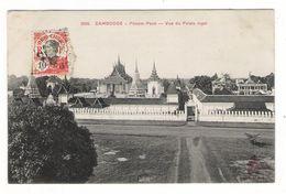 CAMBODGE / PHNOM-PENH / VUE DU PALAIS ROYAL / Edit. DIEULEFILS N°1802  /  TEXTE  INTERESSANT . . . - Cambodia