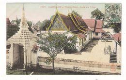 INDOCHINE  /  CAMBODGE  /  PHNOM-PENH  / SALLE  DU  TRÔNE  /  Edit.  DIEULEFILS  N° 1626  ( Colorisée ) - Cambodia