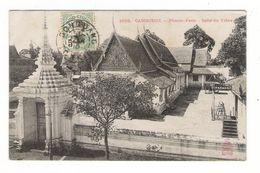 INDOCHINE  /  CAMBODGE  /  PHNOM-PENH  / SALLE  DU  TRÔNE  /  Edit.  DIEULEFILS  N° 1626  ( Noir & Blanc ) - Cambodia
