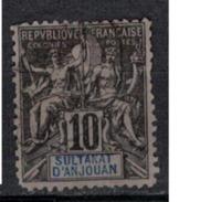 ANJOUAN         N°  YVERT   5  ( 1 )   OBLITERE       ( O   4234 ) - Anjouan (1892-1912)