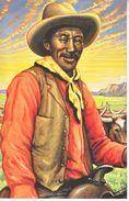 U.S. LEGENDS Of The WEST   MAXI CARD   BLACK  COWBOY  BILL  PICKETT - Maximum Cards