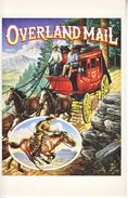 U.S. LEGENDS Of The WEST   MAXI CARD   OVERLAND  MAIL  STAGECOACH  PONY  EXPRESS - Maximum Cards
