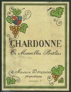 Rare // Etiquette // Chardonne, Murailles Brulées, Maurice Dénéréaz,Chardonne, Vaud, Suisse - Etiquettes