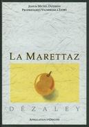 Rare // Etiquette // Dézaley, La Marettaz, Jean Et Michel Dizerens, Lutry, Vaud, Suisse - Etiquettes