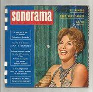 SONORAMA N° 18 , 1960 , 6 Disques Souples , Line Renaud, Salvatore Accardo , Jean Siegfried , 2 Scans , Frais Fr :4.25€ - Verzameluitgaven