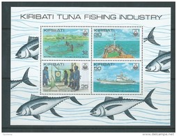 Kiribati 1981 Fish & Fishing Miniature Sheet MNH - Kiribati (1979-...)