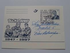 BUCK DANNY 1947-1997 > 1997Charleroi > Antwerpen ( Zie Foto Voor Details ) !! - Poste & Facteurs