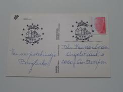 EUROSAIL Antwerpen 14-8-93 ( Euredis - Spanjersberg ) > Antwerpen ( Zie Foto Voor Details ) LA RADE !! - Poste & Facteurs