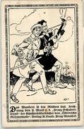 52625547 - Das Wandern Ist Des Muellers Lust.Zeichnung F. Wacik A.d. Franz-Schubert-Band - Unclassified