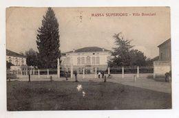 Massa Superiore (Rovigo) - Villa Bresciani - Viaggiata Nel 1924 - (FDC5958) - Rovigo