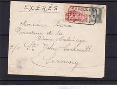 N° 480 +485 : / Env. En EXPRES ( 1 Fr.75 ) Tarif Pour Militaire En Franchise De Port Du Bureau CDF De Kapellen - 1934-1935 Léopold III