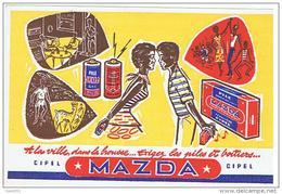 9  A LA VILLE DANS LA BROUSSE EXIGEZ LES PILES ET BOITIERS MAZDA   ***    A   SAISIR  **** - Elektrizität & Gas