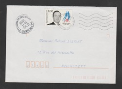 FRANCE / 1998 / Y&T N° 3129 ** : Michel Debré - Sur Pli Du 28/01/1998 - Francia