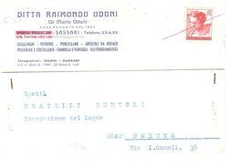 C.P.1968 DITTA RAIMONDO ODONI SASSARI - Sassari