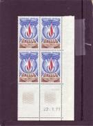 SERVICE N° 41 - 0,50F UNESCO - 22.01.1971 - (2 Traits) - Neufs