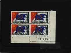 SERVICE N° 28 - 0,25F - CONSEIL DE L'EUROPE - 13.04.1965 - - Officials