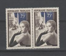 FRANCE / 1955 / Y&T N° 1020 ** : Ganterie X 2 En Paire - Gomme D'origine Intacte - France