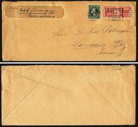 A4979) US Cover Philadelphia 05/14/1929 With 1 Cent Imperf - Briefe U. Dokumente