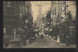 CAEN (14) - Rue Saint-Pierre - Magasin A. Senecal - Ed. P. R. 71 - Caen