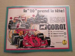 FORMULE 1 FORD Pour Collectionneurs ... PUBLICITE POUR CORGI TOYS Page De Revue Des Années 70 Plastifiée Par Mes Soins - Corgi Toys