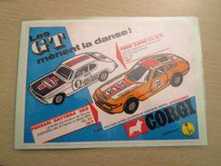 FORD CAPRI GT Pour Collectionneurs ... PUBLICITE POUR CORGI TOYS Page De Revue Des Années 70 Plastifiée Par Mes Soins , - Corgi Toys