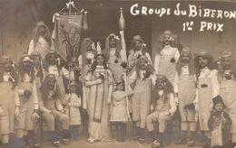 Carte Photo Groupe Du Biberon Carnaval - Montpellier