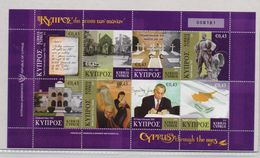 CYPRUS STAMPS CYPRUS THROUGH THE AGES SHEETLET   1/10/10-MNH(K) - Cyprus (Republic)