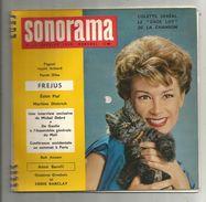 SONORAMA N° 15 , 1960 , 6 Disques Souples , Edith PIAF , Marléne Dietrich , Pagnol , 2 Scans , Frais Fr :4.25€ - Verzameluitgaven